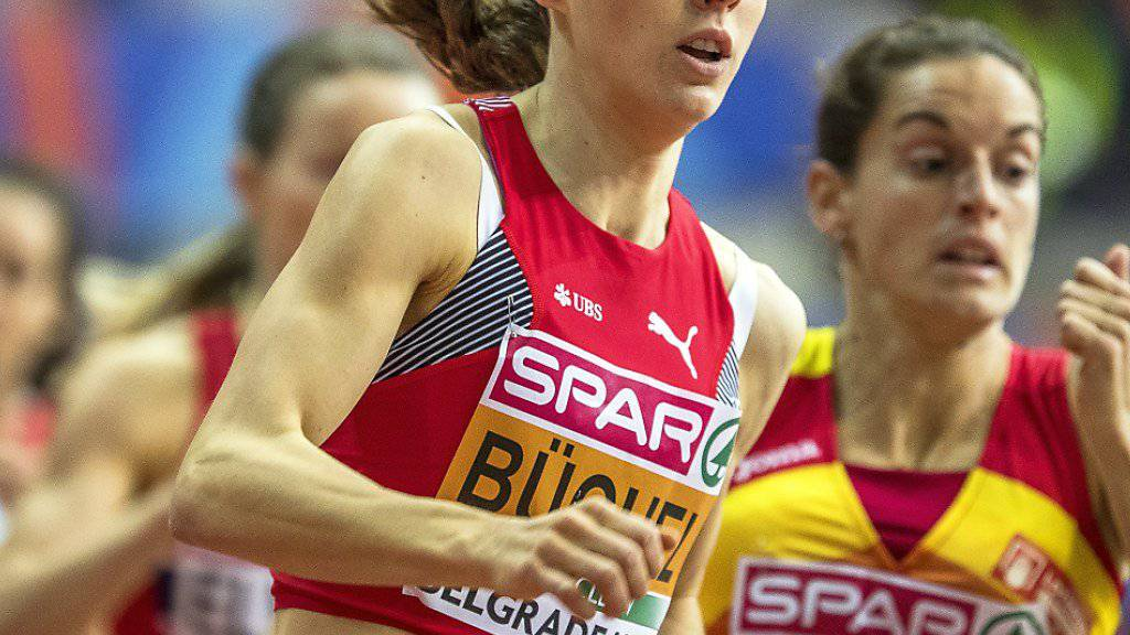 Selina Büchel qualifiziert sich an der Hallen-EM in Belgrad souverän für die Halbfinals