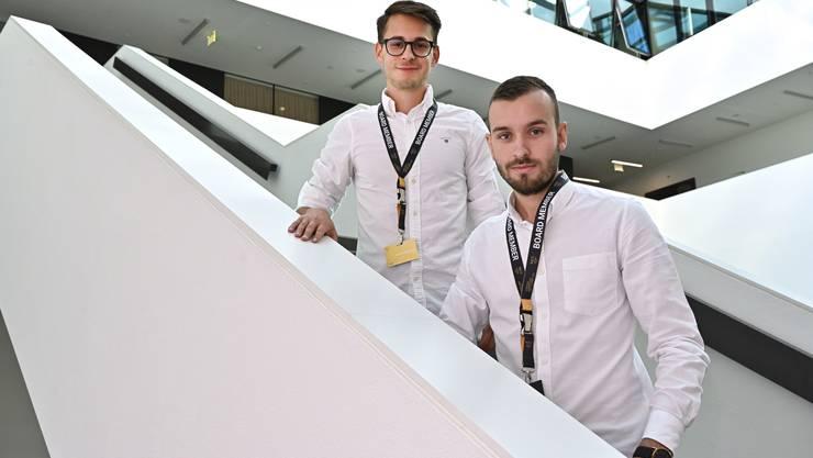 Leandro Vaglietti (links) und Ramon Fasnacht haben den Oltner Ableger des Netzwerks Neo gegründet.