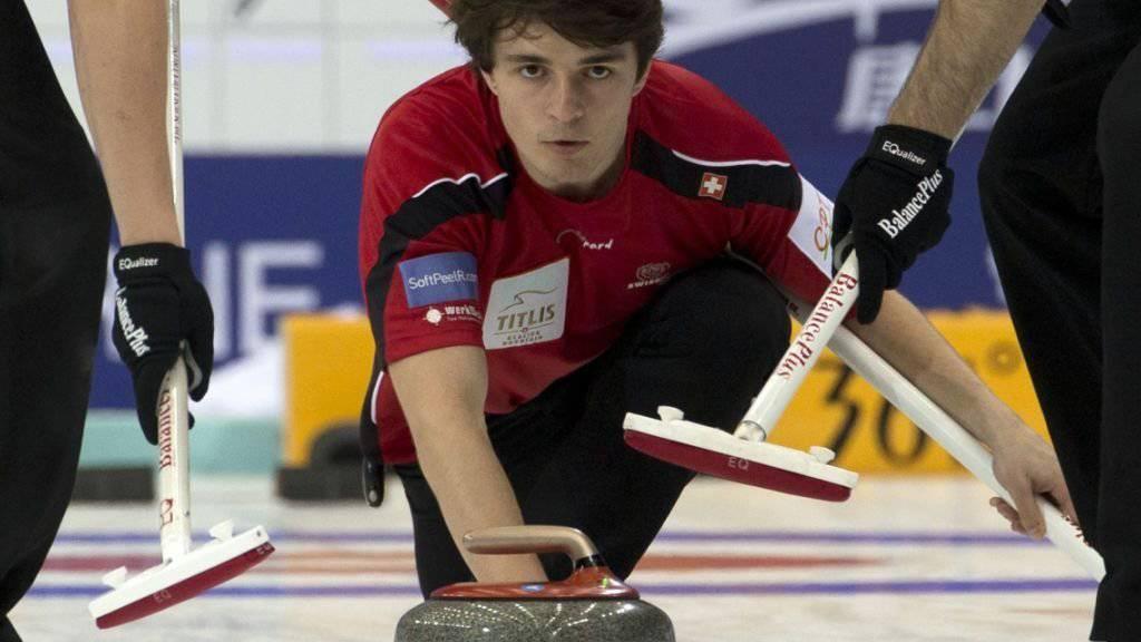 Benoît Schwarz ist als Schweizer Nummer 4 eine Teamstütze