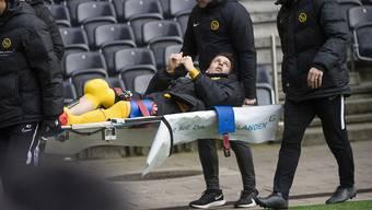 Sandro Lauper verletzte sich am Freitag erneut schwer