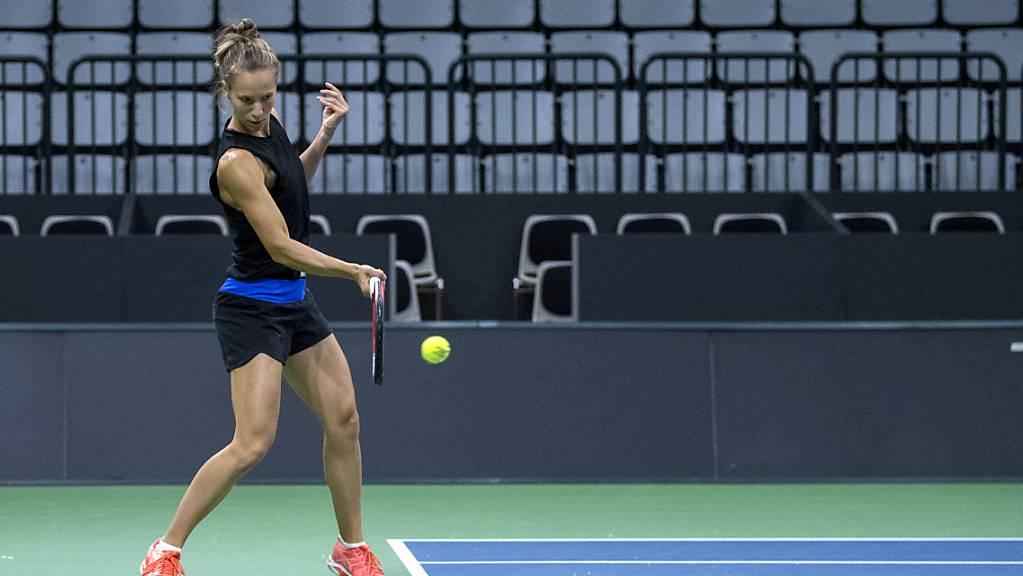 Viktorija Golubic spielt auch in Lyon vor leeren Rängen. (Archivaufnahme)