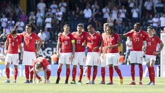 Nations League, Final Four, Spiel um Platz drei: Schweiz - England