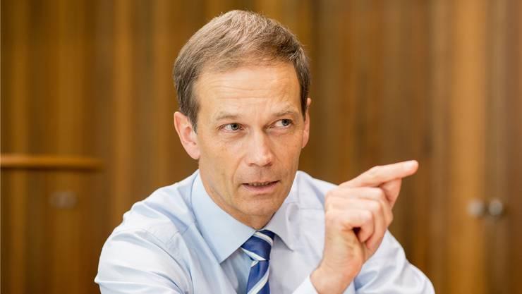 «Aus meiner Sicht besteht Potenzial für ein Ungleichgewicht»: Martin Scholl über den schweizerischen Markt für Mietwohnungen.