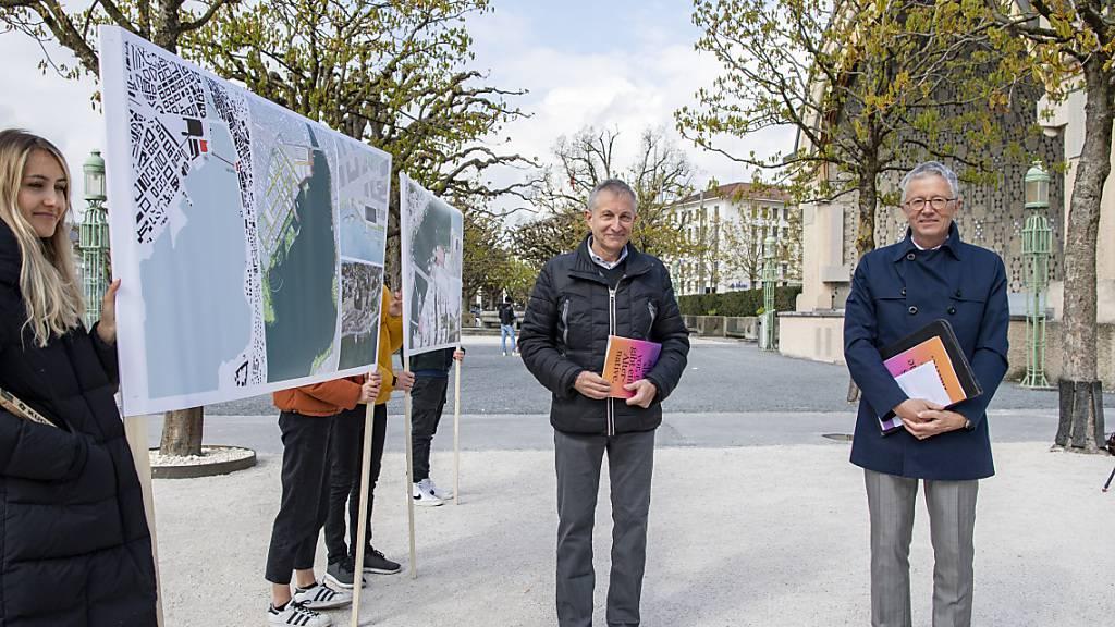 Architekten bringen neuen Standort fürs Luzerner Theater aufs Tapet
