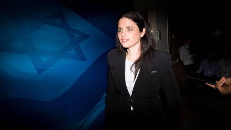 High-Tech-Profi, Justizministerin und bald vielleicht irgendwann Israels Regierungschefin? Ayelet Shaked, 39, würde sich selber alles zutrauen.