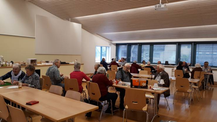 im Gemeindesaal in Bubendorf