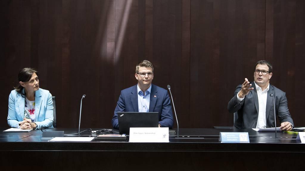 SVP-Nationalräte sammeln gegen Überbrückungsrente