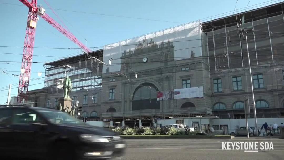 Die wichtigsten Fragen zur Grossbaustelle Südtrakt im Hauptbahnhof Zürich