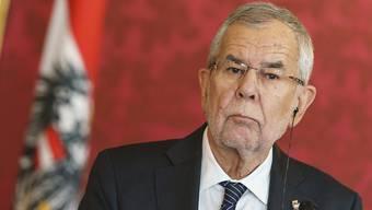 """""""Die Europäer müssen nicht tanzen, wenn Trump pfeift"""": Österreichs Präsident Alexander Van der Bellen. (Archivbild)"""
