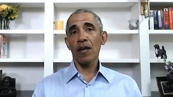 Der ehemalige US-Präsident Barack Obama hat sich per Video erneut in die Debatte um Rassismus und Polizeigewalt in den USA eingeschaltet. (Archivbild)