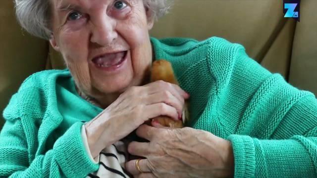 """Therapie mit Hühnern: """"Ich liebe diese Küken!"""""""