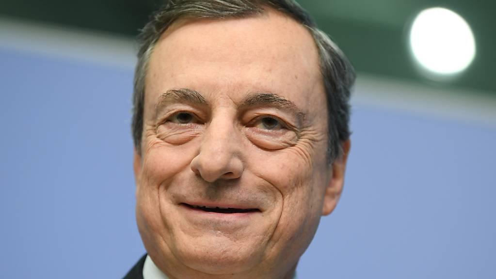 Mario Draghi, früherer Präsident der Europäischen Zentralbank (EZB). Foto: Arne Dedert/dpa
