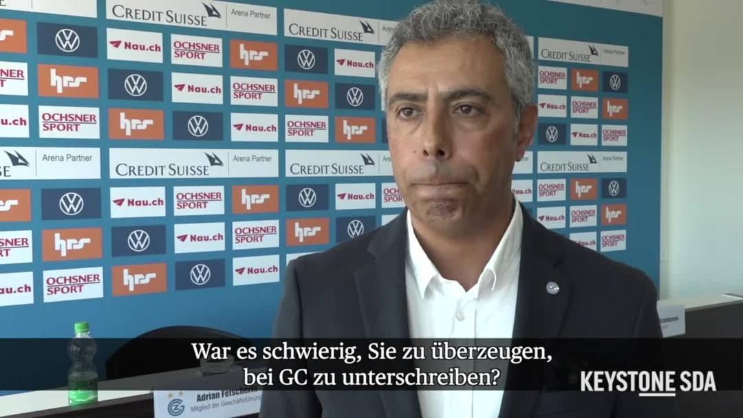 """Neuer GC-Trainer Perreira: """"Ich liebe Angriffsfussball"""""""