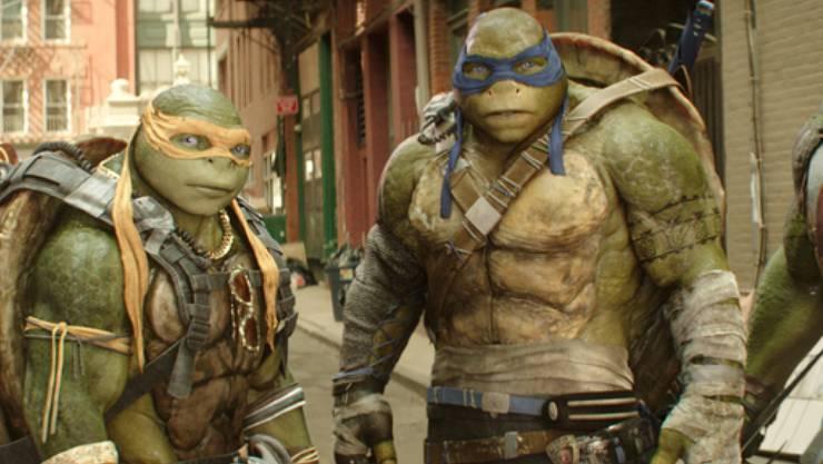 """""""Teenage Mutant Ninja Turtles: Out of the Shadows"""" hat in den USA die Spitze bei den Kinocharts übernommen (Archiv)"""