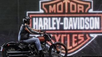Harley verkauft wieder mehr Motorräder (Archiv)