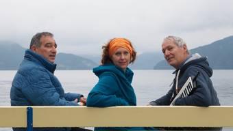 Das Trio Sooon (v.l.n.r.): Tony Madjalani, Sonja Morgenegg und John Wolf Brennan.