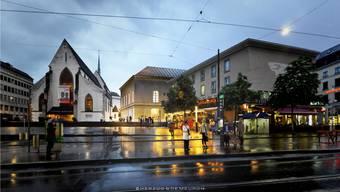 So sieht die Vision von Herzog & de Meuron für das Basler Musikzentrum aus