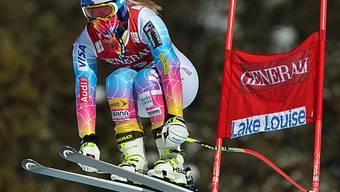 Lindsey Vonn: Am Freitag startet sie zum Rennen in Lake Louise.