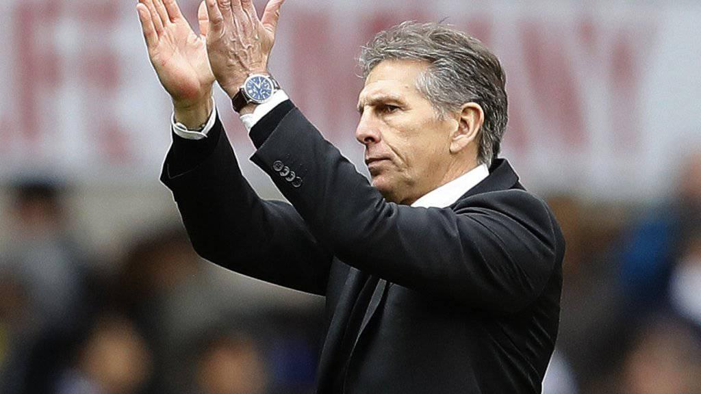 Claude Puel übernimmt in Leicester das Traineramt.