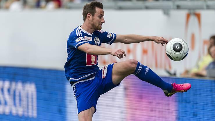 Der ehemalige Luzern-Profi Jérôme Thiesson spielt ab Sommer für den FC Aarau