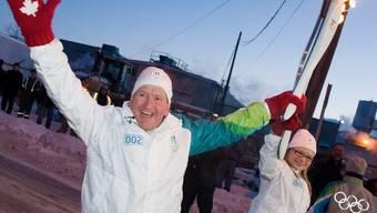 """Britischer Skisprung-Held Eddie """"The Eagle"""" Edwards (Archiv)"""