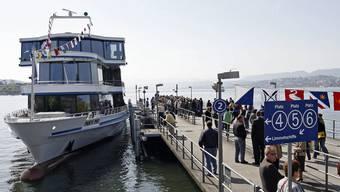 Die Schiffe auf dem Zürichsee dürfen beim Abfahren nicht mehr hornen. (Symbolbild)