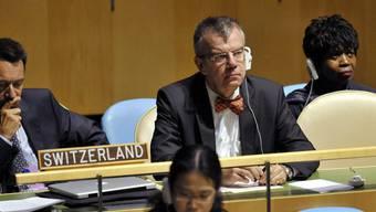 Schweizer UNO-Botschafter Paul Seger (Archiv)