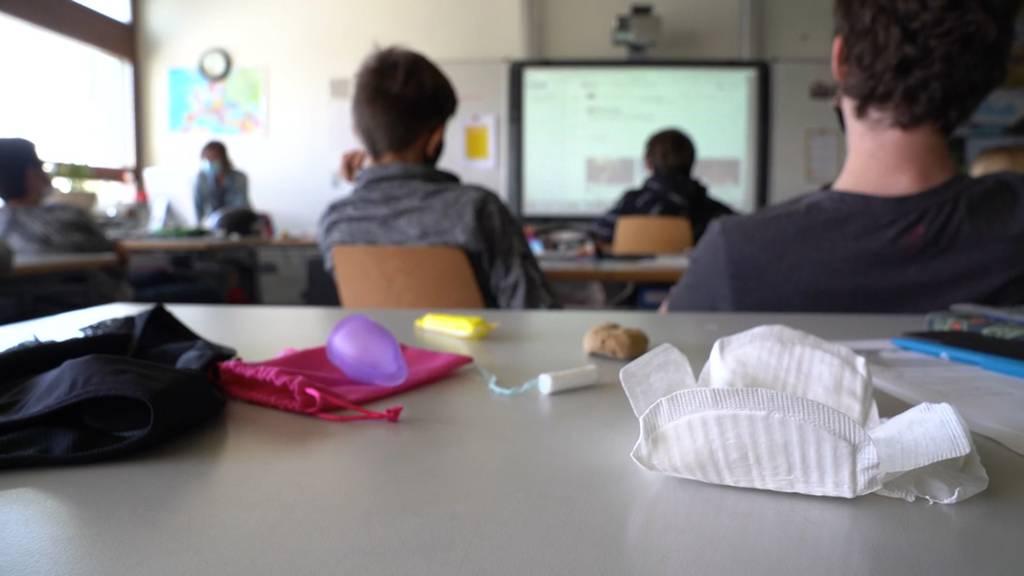 Pilotprojekt: Kostenlose Menstruationsprodukte an Schulen