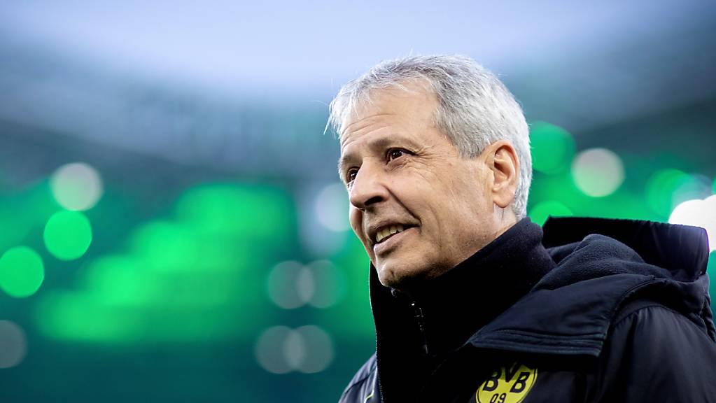 Lucien Favre und Borussia Dortmund werden im Achtelfinal-Rückspiel der Champions League in Paris vor leeren Rängen spielen