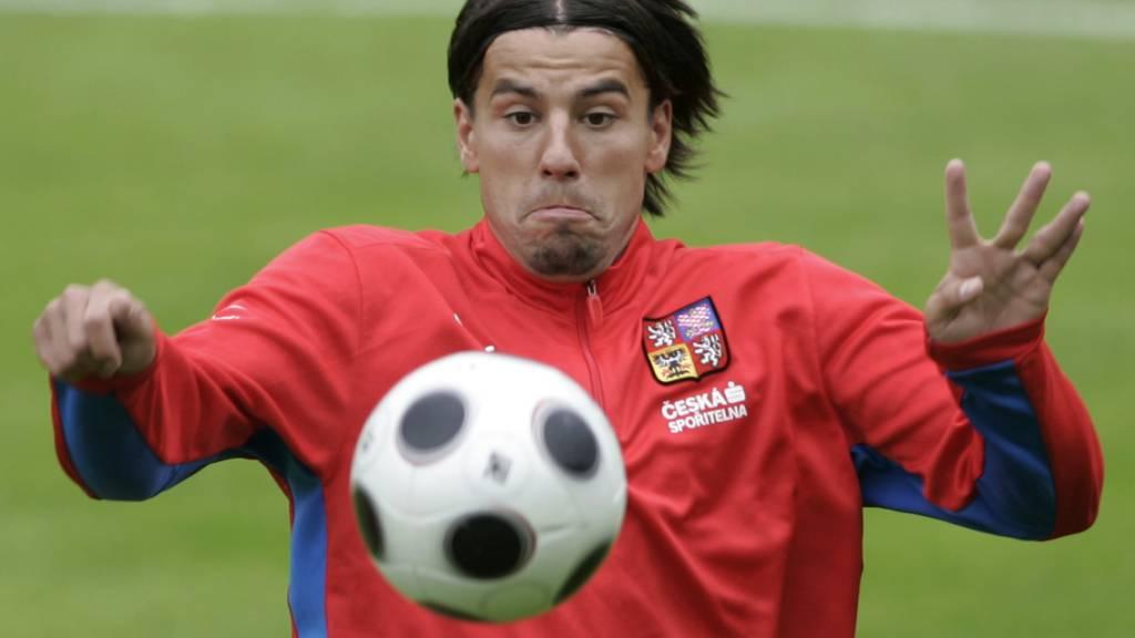 An der EM 2004 war Milan Baros Torschützenkönig