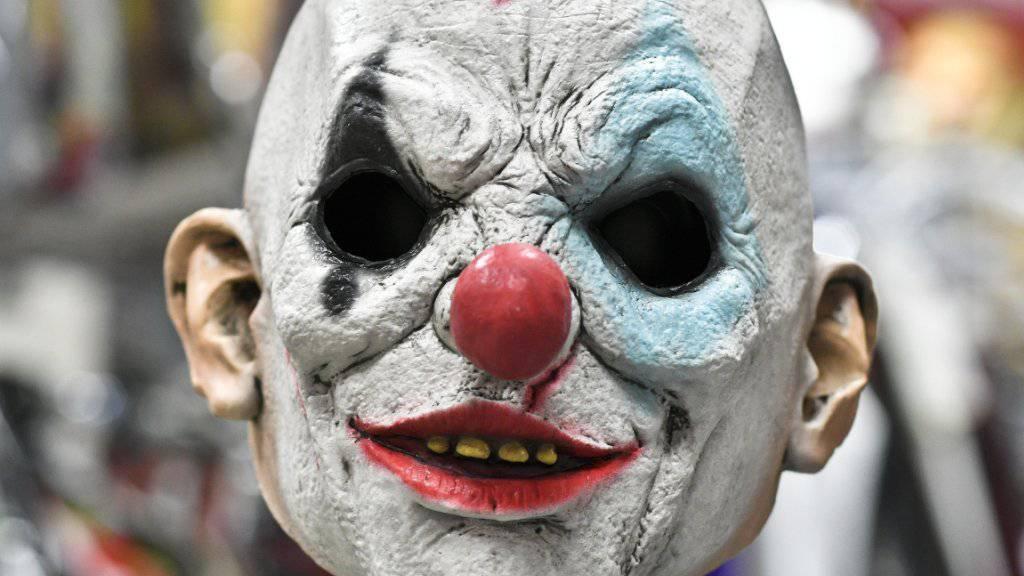 Können böse enden: Scherze mit Clownmasken. (Symbolbild)