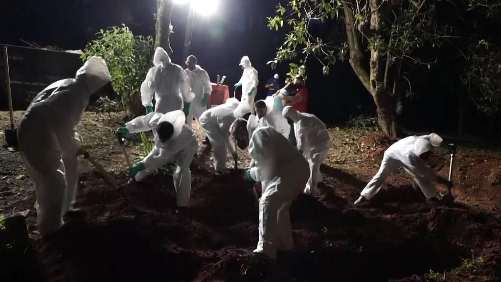 Neue Corona-Variante: 3869 Todesfälle in 24 Stunden in Brasilien