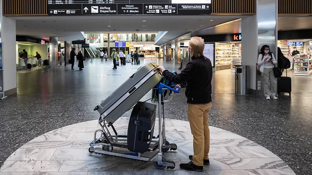 Flughafen Zürich im April mit höherem Verkehrsaufkommen