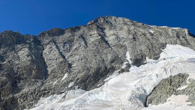 Zwei Bergsteiger kamen am Weisshorn im Kanton Wallis bei einem Unfall ums leben.