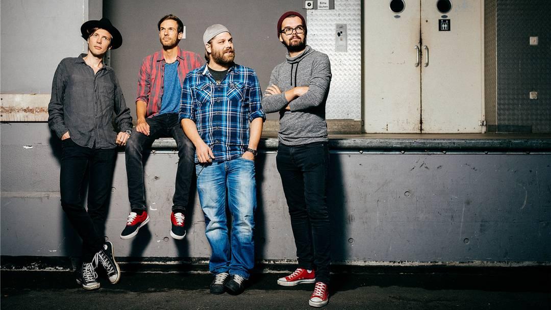Rocken im Studio: «Subaltern» bei den Aufnahmen für ihr neues Album.