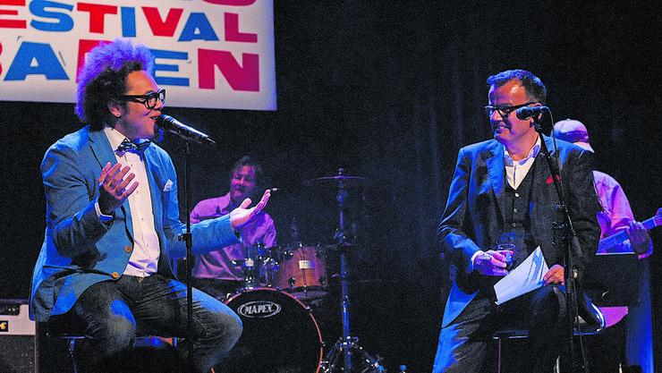 2013 waren Marc Sway und Philipp Fankhauser am Festival.