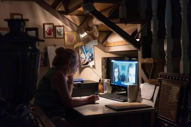 Videoanrufe sind für Grosseltern im Moment die einzige Möglichkeit, ihre Enkel zu sehen.