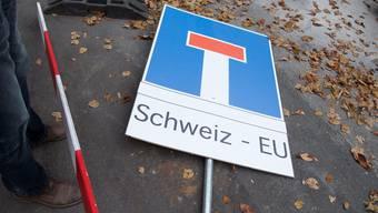 Schweiz - EU.