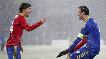 Der FCB gewinnt das Heimspiel gegen Dnjepr mit 2:0