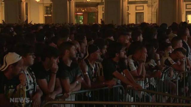 Turin: 1400 Verletzte nach Massenpanik