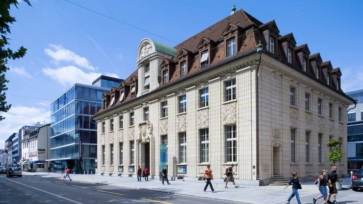 Die Geschichte der Bank in Bildern: Hier die NAB in der Bahnhofsstrasse.