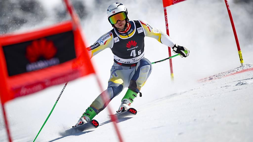 Slalom-Weltmeister Sebastian Foss-Solevaag war Mitglied des siegreichen norwegischen Teams