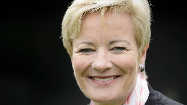 Die Schweizerin Ingrid Deltenre darf als Leiterin der Generaldirektion der European Broadcasting Union (EBU) am 28. April in Aachen die Karlsmedaille für den Eurovision Song Contest entgegennehmen (Archiv).