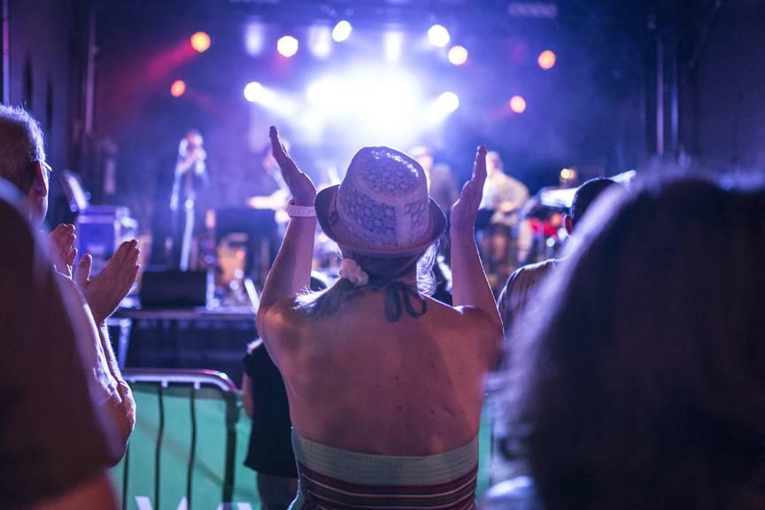 Auch in Gossau geht es an diesem Wochenende musikalisch zu und her. (Bild: TAGBLATT/Benjamin Manser)