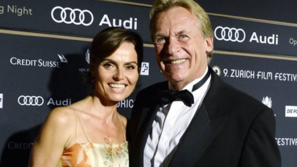 Christine und Pepe Lienhard sind seit fünf Jahren glücklich verheiratet - obwohl es zu Beginn für sie nicht so vielversprechend aussah (Archiv).