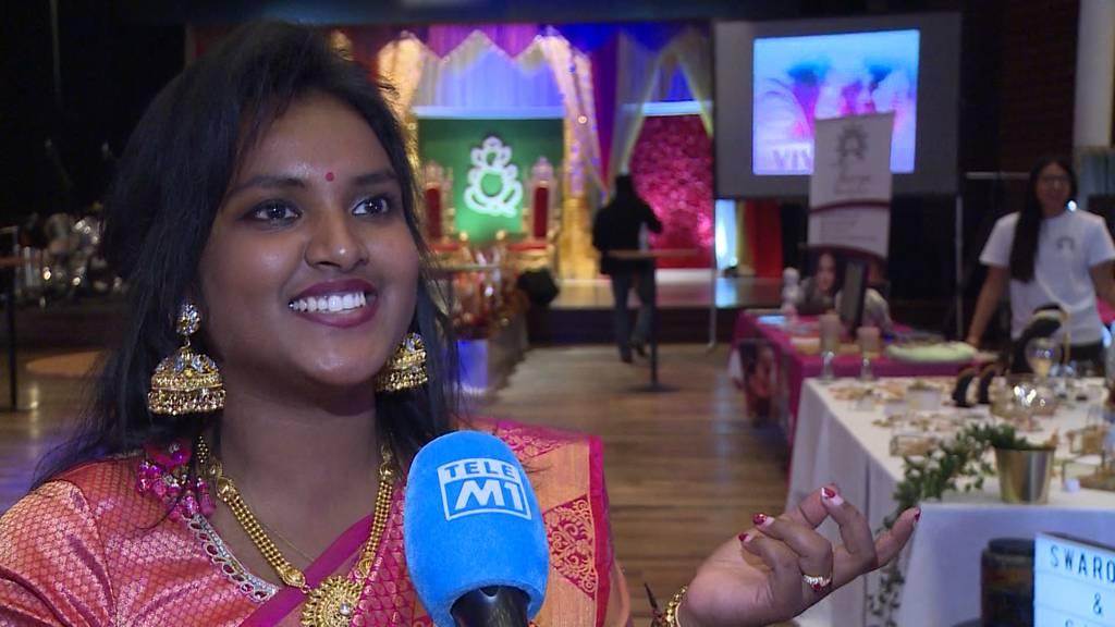 Hochzeitspuristen: Erste Messe für Tamilen in Zofingen
