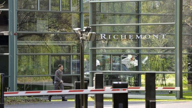 Der Richemont-Sitz in Genf (Archiv)