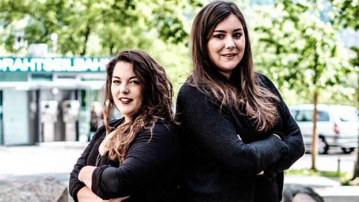 Eine von beiden wird heute neue Juso-Präsidentin Tamara Funiciello (links) oder Samira Marti.