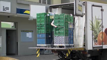 Werden Lebensmittel falsch transportiert, kann so einiges schief gehen (Symbolbild).