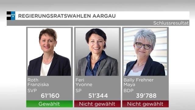 Der Kanton Aargau hat gewählt